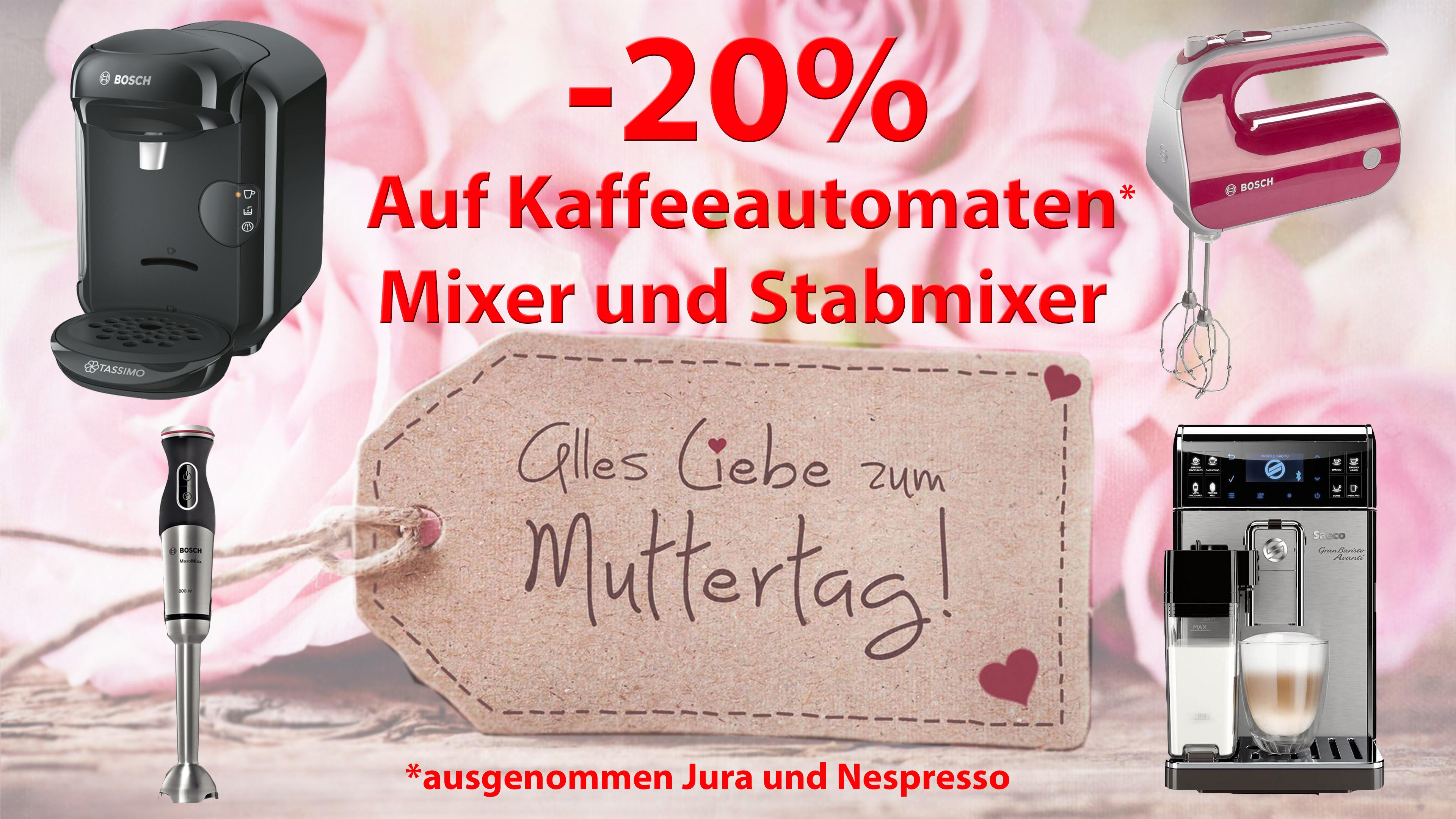 Werbung Muttertag Plakat